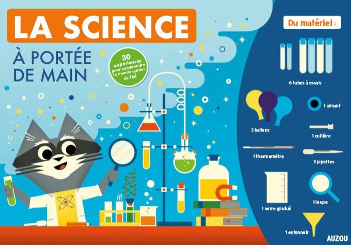 COFFRET LA SCIENCE A PORTEE DE MAIN